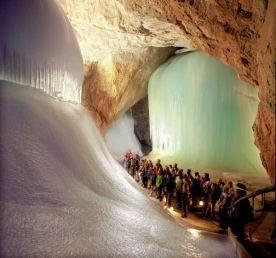 ice caves in Werfen