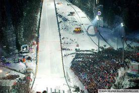 Stadium - 4 Ski jumping events Bischofshofen