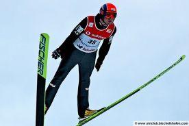 Ski jumping in Bischofshofen